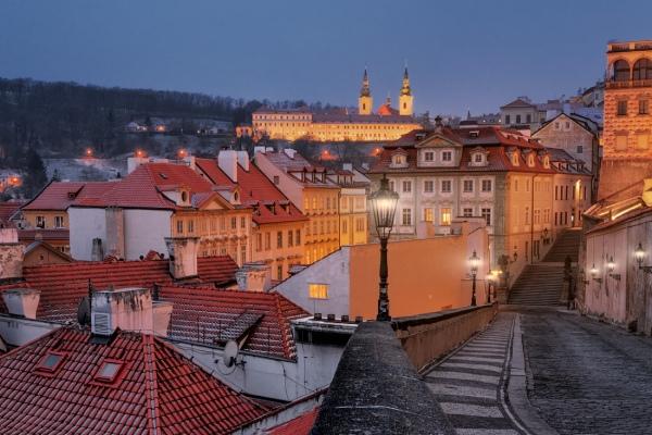 Historické centrum Prahy je cílem našeho fotografování během zimního víkendového foto workshopu Magická zimní Praha