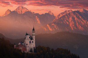 Fotografie z podzimních Rakouských a Bavorských Alp