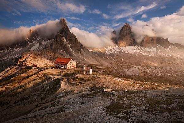 Tre Cime di Lavaredo je jedním z míst, které budeme fotografovat během foto workshopu Rozkvetlé letní Dolomity