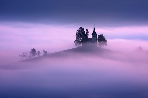 Fotografie z podzimního Slovinska - Julské Alpy
