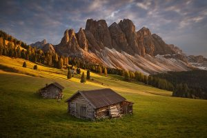 Fotografie z podzimních Dolomit